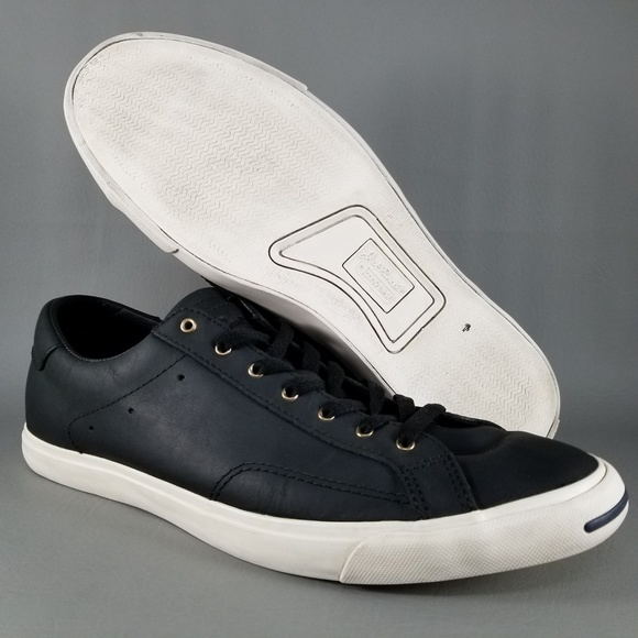 db5520253c87 Converse Jack Purcell Leather Ox Mens Shoes SZ 11.  M 5bca3c65aa5719af5f65df2c